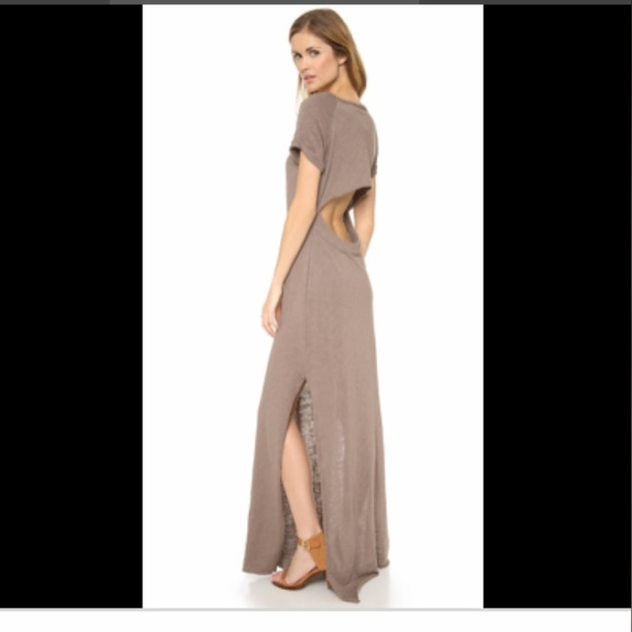 Free People Dresses & Skirts - FREE PEOPLE Odessa maxi dress knit open back S